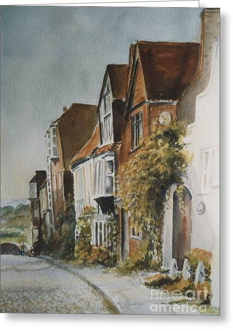 A Lane In Rye, East Sussex Greeting Card