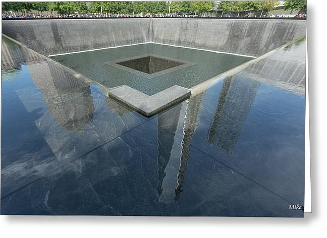 A Place For Reflection Greeting Card