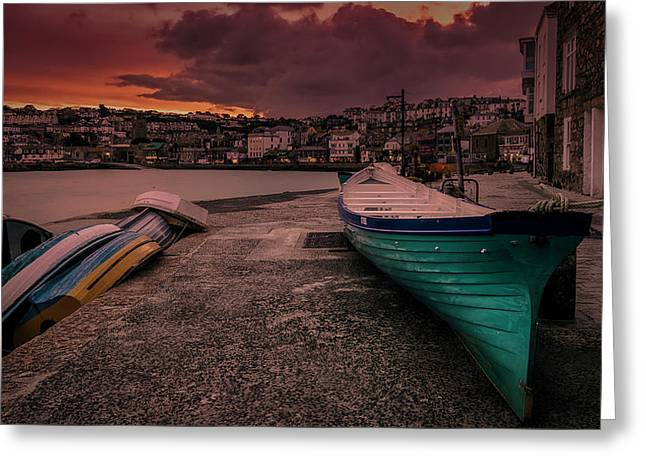 A Quiet Moment - Cornwall Greeting Card