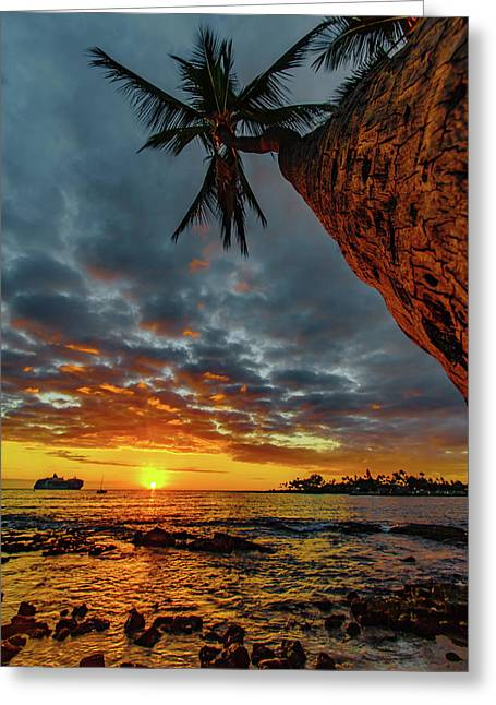 A Typical Wednesday Sunset Greeting Card