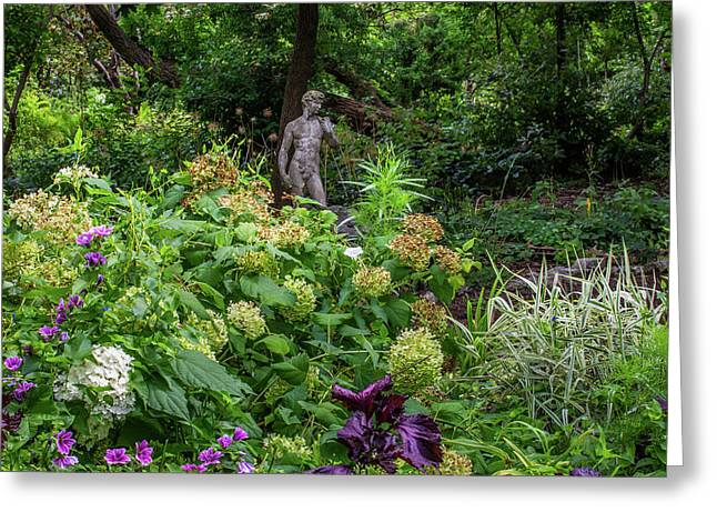 Greeting Card featuring the photograph A Walk In The Garden by Dale Kincaid