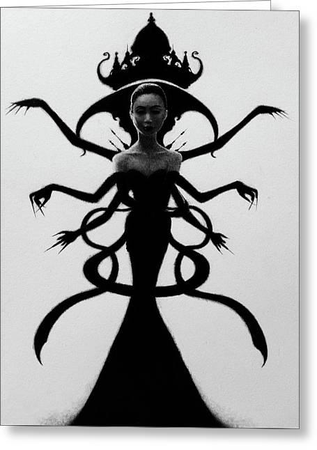 Abdesium - Artwork Greeting Card