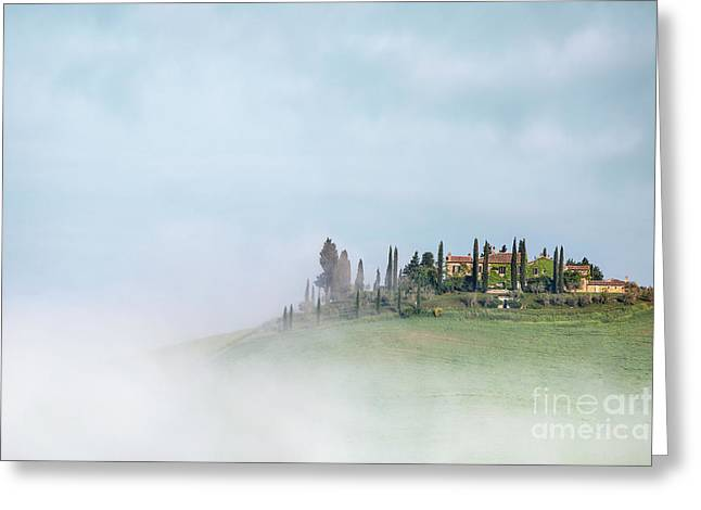 Above The Fog Greeting Card