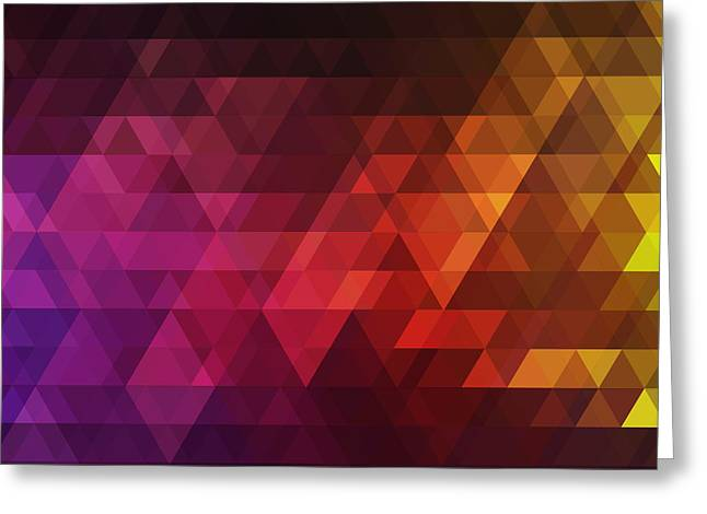 Abstract Background For Design Greeting Card