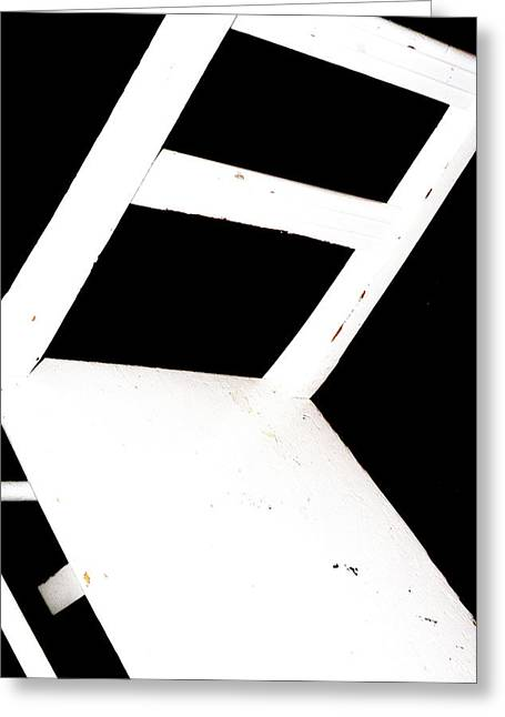 Abstract 1 / The Chair Project Greeting Card