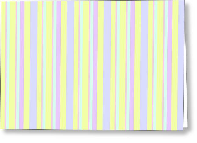 Abstract Fresh Color Lines Background - Dde595 Greeting Card