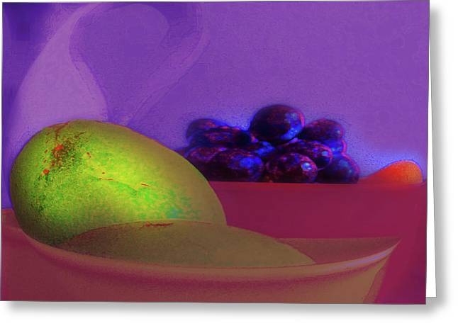 Abstract Fruit Art  109 Greeting Card