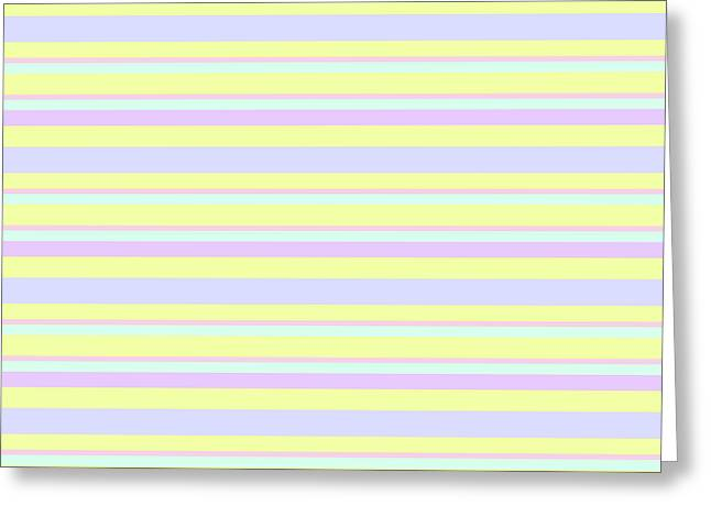 Abstract Horizontal Fresh Lines Background - Dde596 Greeting Card