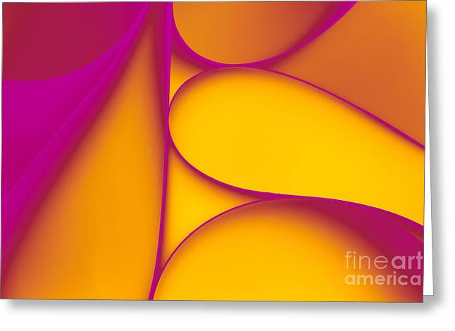 Abstract Paper Background Greeting Card