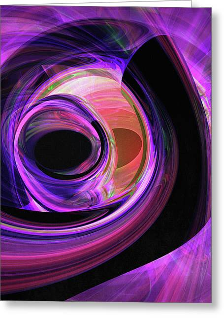Abstract Rendered Artwork 3 Greeting Card