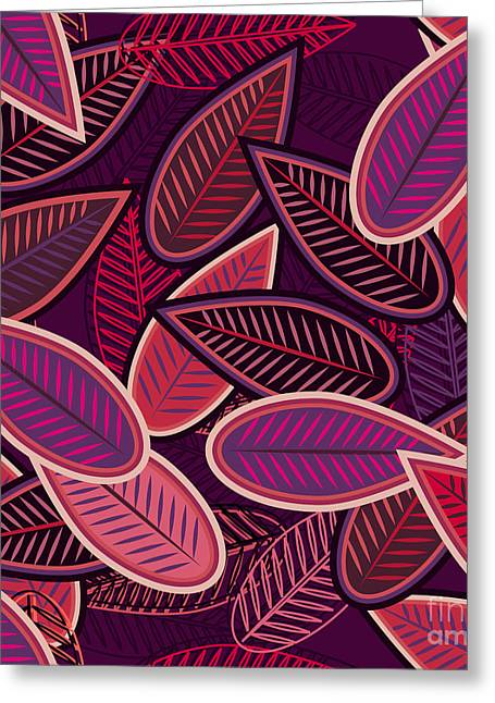 Abstract Vector Seamless Background Greeting Card