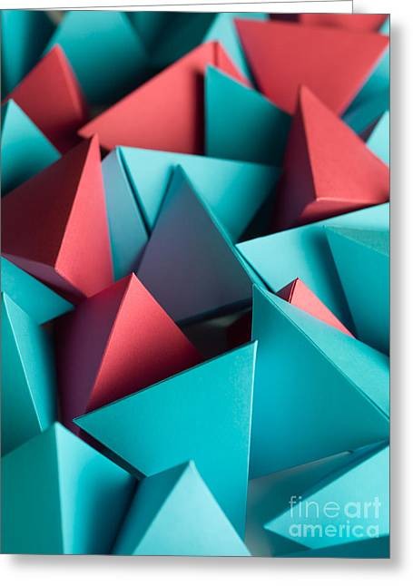 Abstract Wallpaper Consisting Of Greeting Card