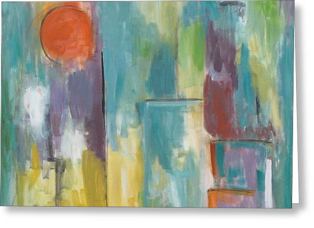 Abstraction II Greeting Card