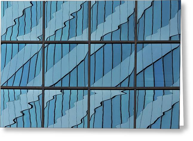 Abstritecture 39 Greeting Card
