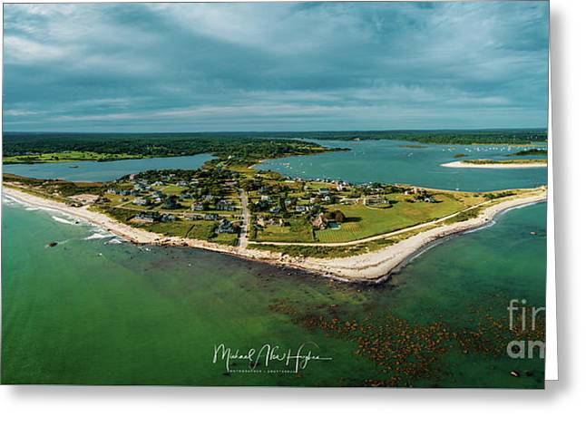 Greeting Card featuring the photograph Acoaxet Life, Westport by Michael Hughes