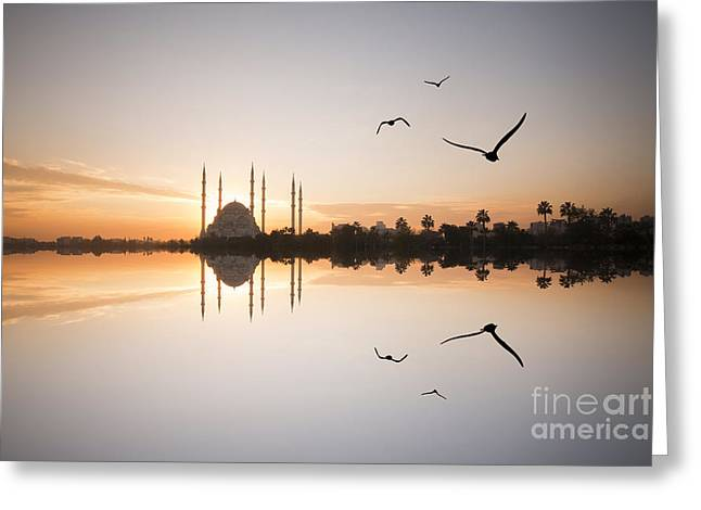 Adana Greeting Card