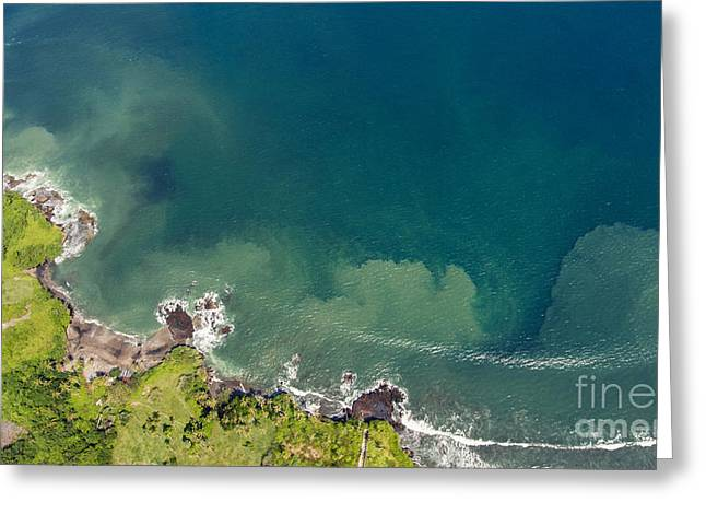 Aerial Photo From Flying Drone Of Greeting Card