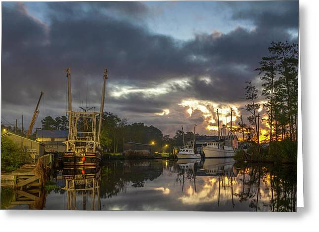 Greeting Card featuring the photograph After The Storm Sunrise by Cindy Lark Hartman