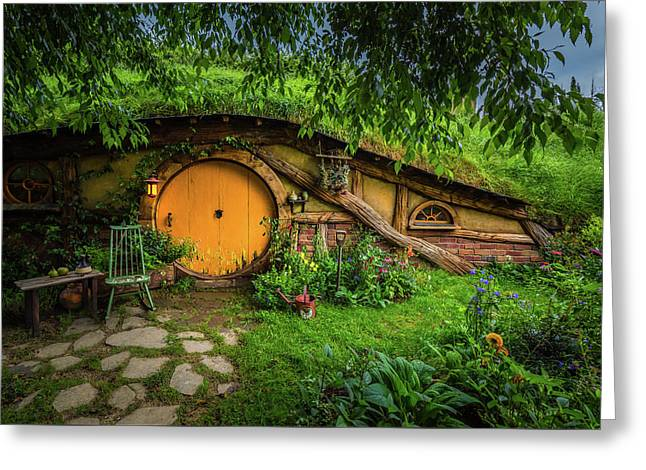 Hobbiton Afternoon Greeting Card