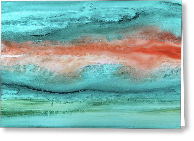 Agate Shore 2 Greeting Card