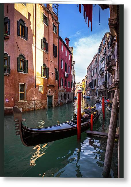 Ah...venice Greeting Card