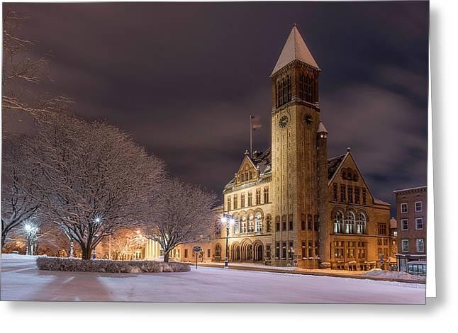 Albany City Hall Greeting Card