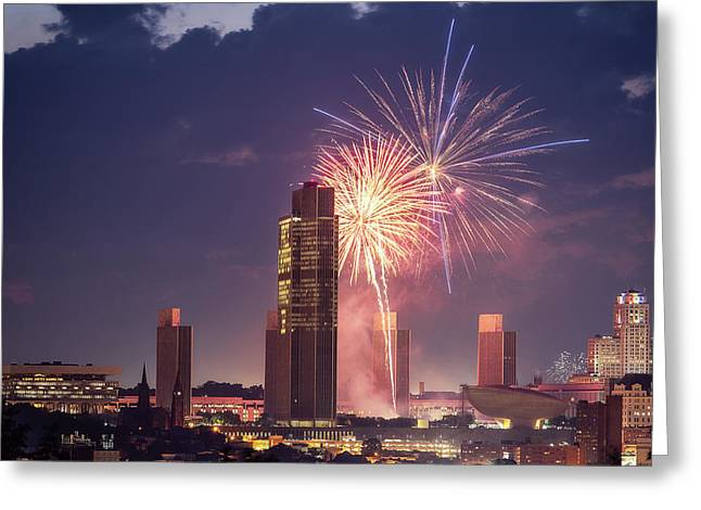 Albany Fireworks 2019 Greeting Card