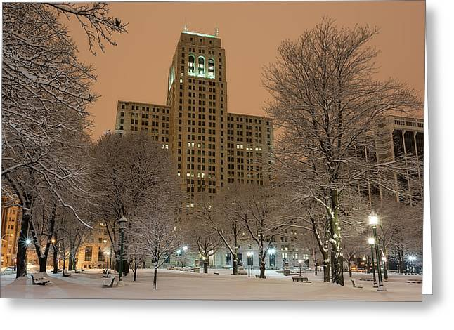 Alfred E. Smith Building Greeting Card