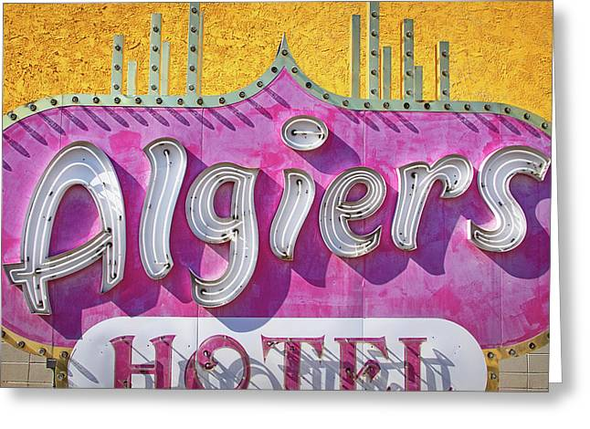 Greeting Card featuring the photograph Algiers by Skip Hunt