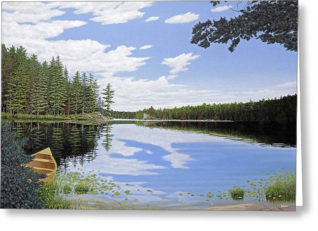 Algonquin Portage Greeting Card