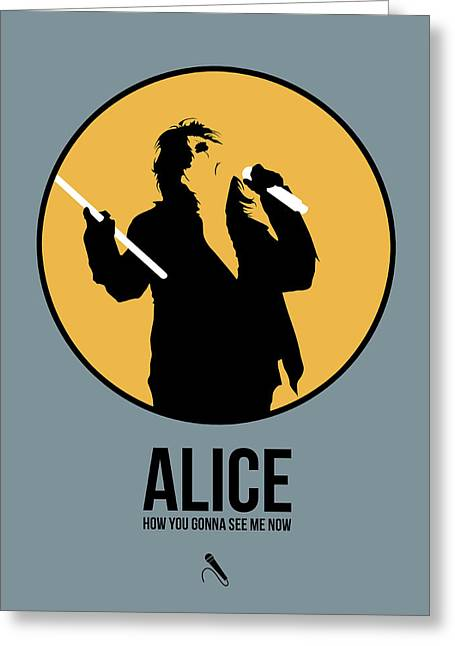 Alice Cooper II Greeting Card