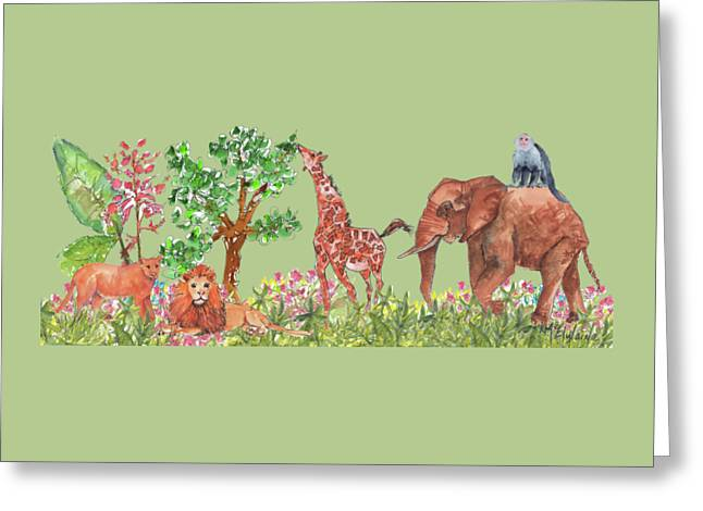 All Is Well In The Jungle Greeting Card