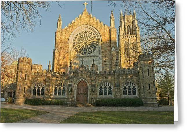All Saints Chapel Sewanee 14 Greeting Card