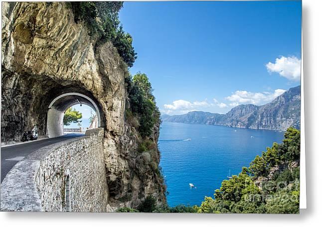 Amalfi Coast, Italy Greeting Card