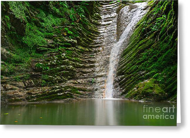 Amazing Natural View Of  Small Greeting Card