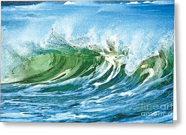 Amazing Wave Greeting Card