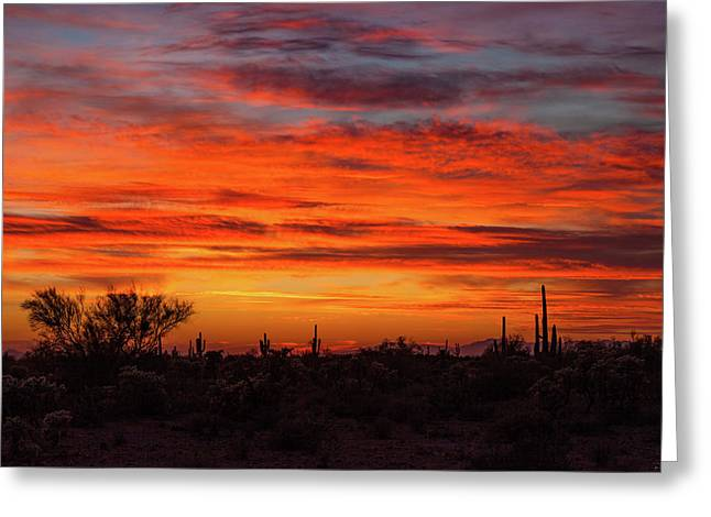 An Arizona Sky Greeting Card