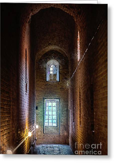 An Entrance To The Casemates Of The Medieval Castle Greeting Card
