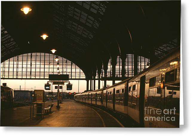An Image Of Brighton Station Greeting Card