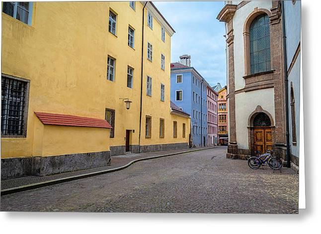 An Innsbruck Street Greeting Card