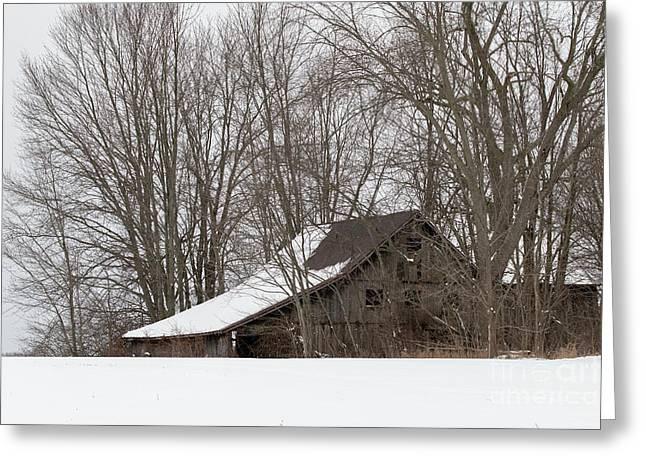 Ancient Barn Greeting Card