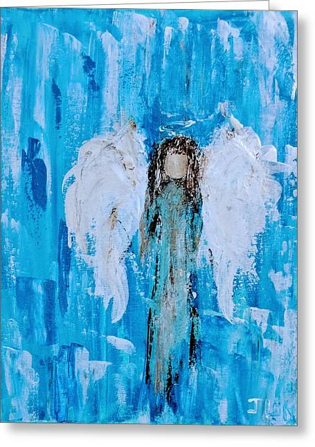 Angel Among Angels Greeting Card