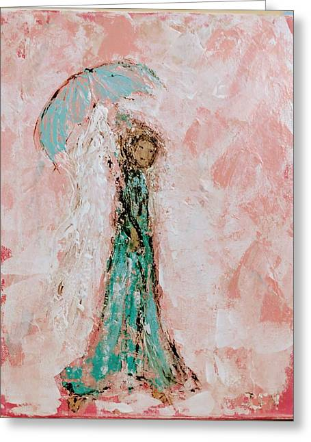 Angel By Your Side Greeting Card