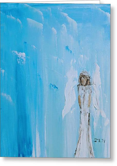 Angel Of Simplicity Greeting Card