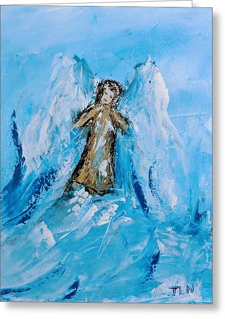Angel With A Purpose Greeting Card