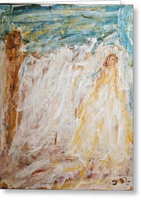 Angels Of Peace Greeting Card