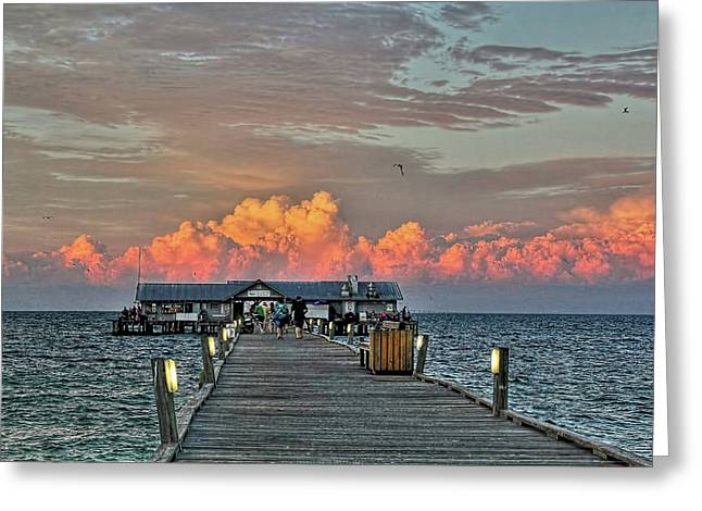 Anna Maria City Pier Greeting Card