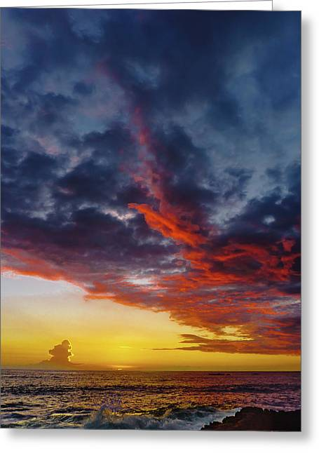 Another Colorful Sky Greeting Card