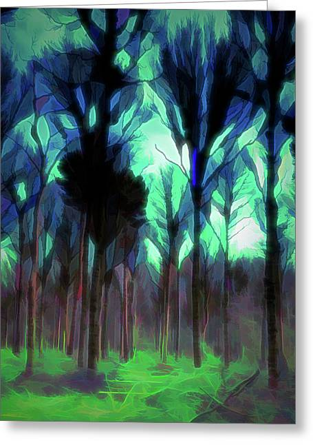 Another World - Forest Greeting Card