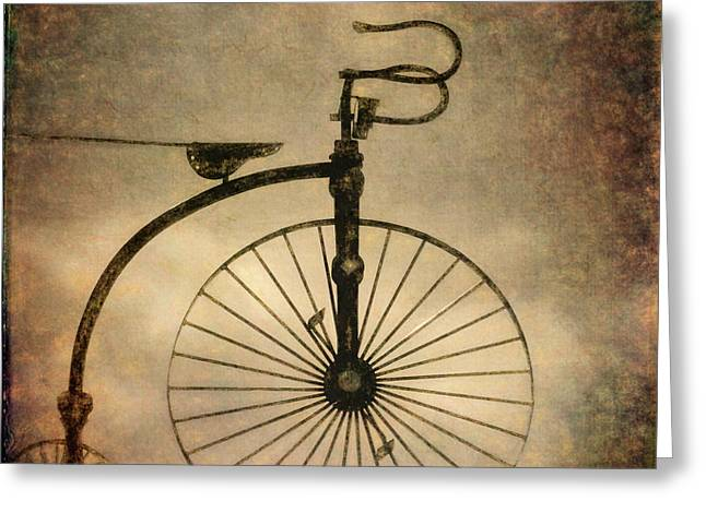 Greeting Card featuring the photograph Antique Bicycle I  by David Gordon